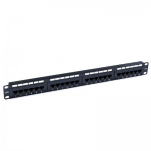 Brand-rex Cat.5e Patch Panel 24-port