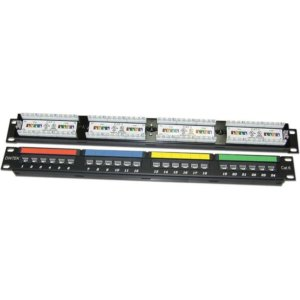 Dintek Cat6 UTP 24 port Patch Panel