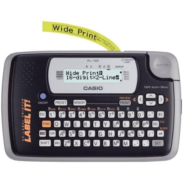 Casio labeling machine KL-120 1