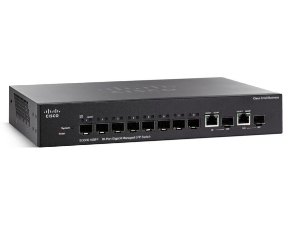 Cisco 8-Port PoE Gigabit Managed Switch + SFP