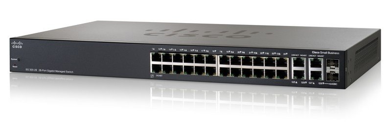 Cisco SB 28-Port Gigabit Managed +2SFP Switch