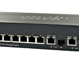 Cisco SB SF302-08PP 8-Port 10/100 PoE + Managed Switch