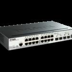 D-LINK 16port 10 100 1000 Mbps+2 SFP