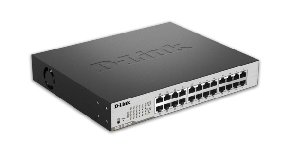 D-Link 24-Port Mged POE Switch