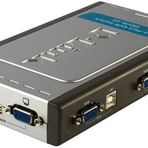 D-Link 4-Port USB KVM Switch