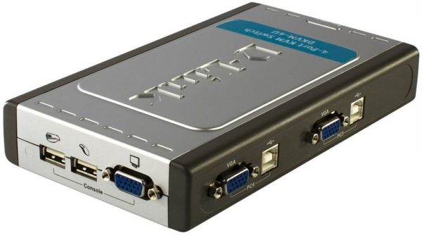 D-Link 4-Port USB KVM Switch
