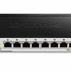D-Link 8-port POE Switch