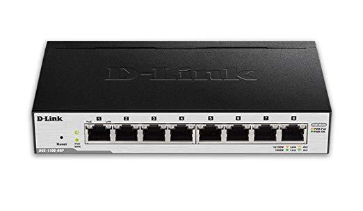 D Link 8 Port POE Switch