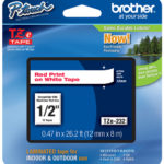 BROTHER LABEL CARTRIDGE 12MM